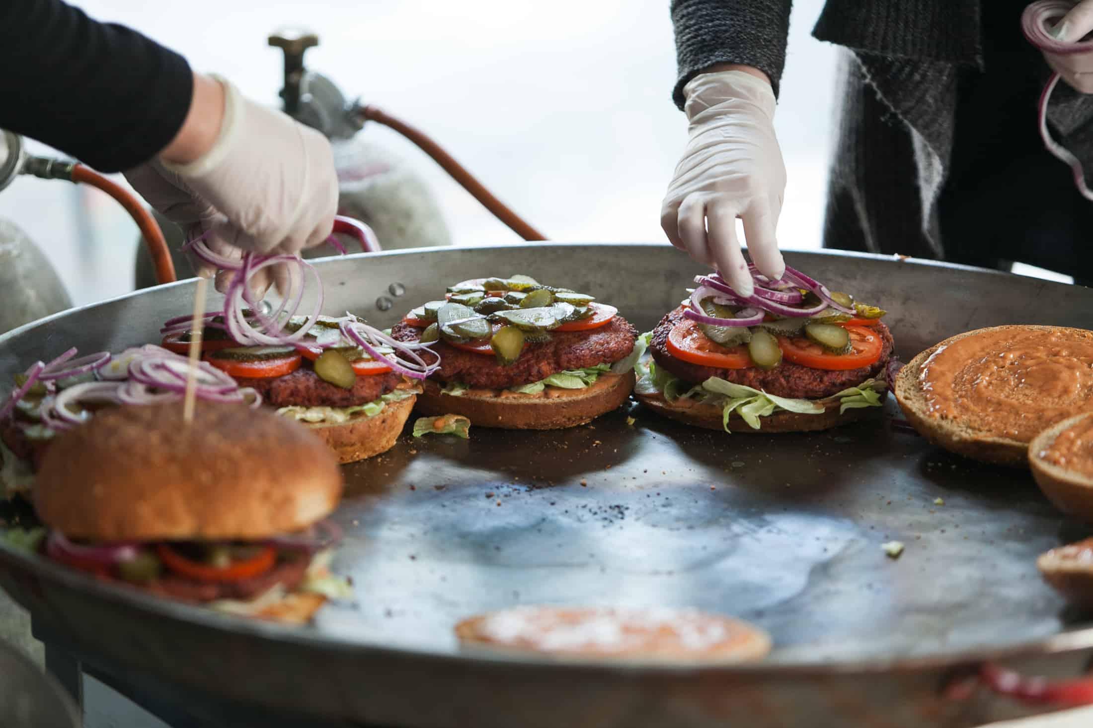 I. Vegán Burger Evő Verseny